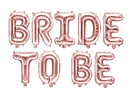 BALON FOLIOWY BRIDE TO BE