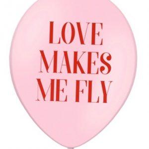 BALON LOVE MAKES ME FLY