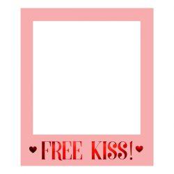 RAMKA SELFIE FREE KISS