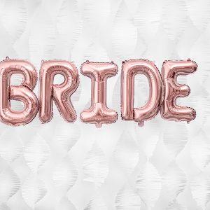 BALON FOLIOWY BRIDE ROSE GOLD
