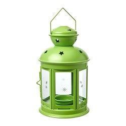 Lampion zielony mały