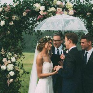 parasolka transparentna