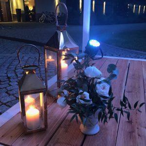 LAMPION METALICZNY