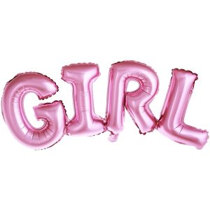 "BALON FOLIOWY "" GIRL """