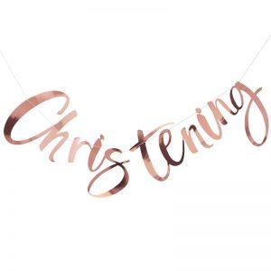 GIRLANDA CHRISTENNING