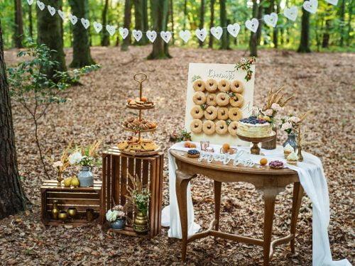 Drewniany napis Sweet Table