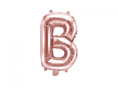 Balon Foliowy B, Rose Gold