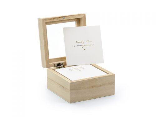 Księga gości - pudełko na porady, wersja PL