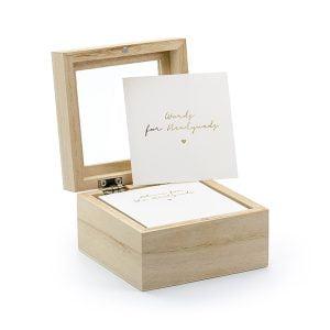 Księga gości - pudełko na porady, wersja ENG