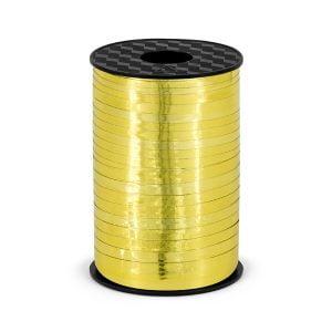 Wstążka plastikowa, złoty