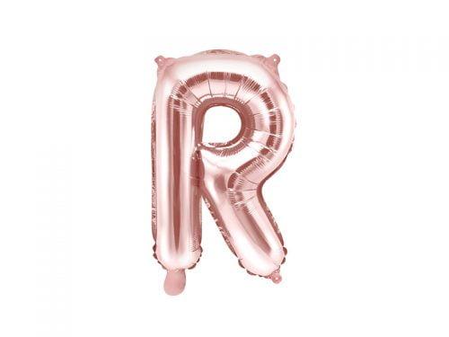 Balon Foliowy R, Rose Gold