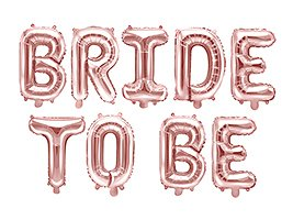 Balon Foliowy Bride To Be, Rose Gold