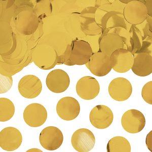 Konfetti Kółka, Złoty