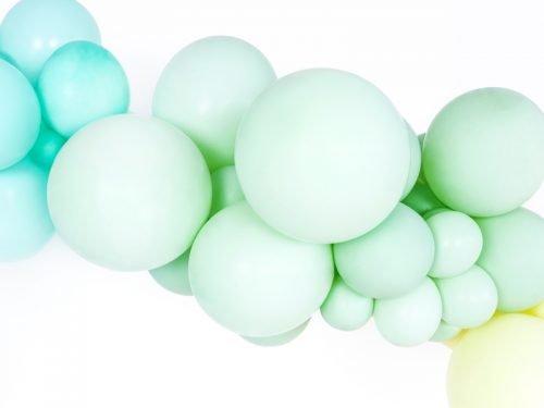 Balon Pastelowy, Pistacjowy 30 cm