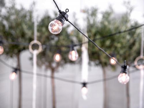 Lampki Dekoracyjne LED, czarne 5 m