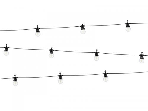 Lampki Dekoracyjne LED, czarne