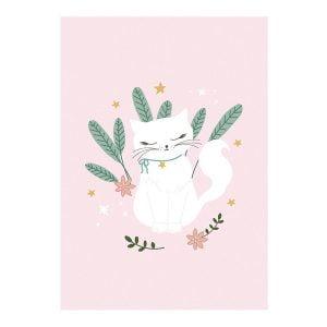 Blok rysunkowy A4 Kotek z białymi kartkami, 50 kartek