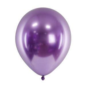 Balon Metaliczny Fioletowy 30 cm