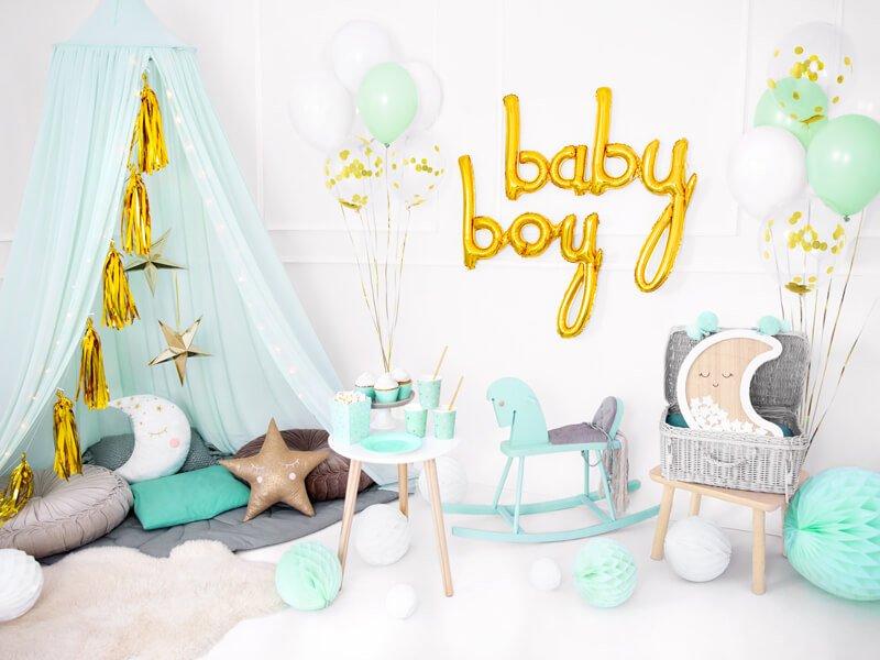 Balon foliowy Baby złoty