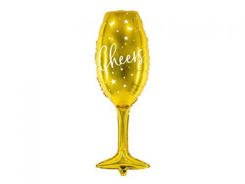 Balon Foliowy Kieliszek Cheers