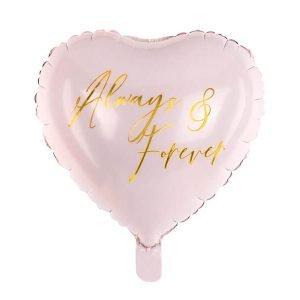 Balon Foliowy Serce Always & Forever