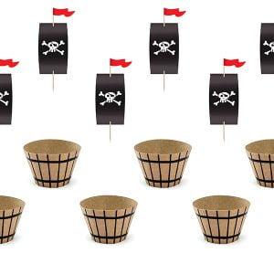 Zestaw do muffinek Piraci